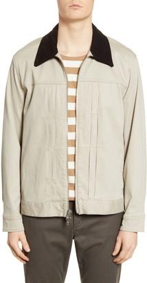 Baldwin Noah Slim Fit Suede Collar Jacket