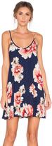 Eight Sixty Border Floral Dress