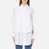 Gestuz Women's Ira Double Layer Shirt White
