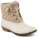 Sperry Saltwater Quilted Wool-Blend Boots