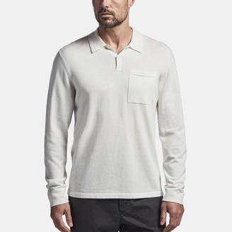 James Perse Cotton Cashmere Polo