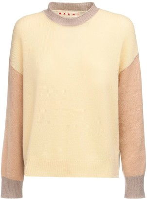 Marni Patchwork Knit Cashmere Sweater