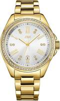 JBW J6340B Capri Japanese-Quartz Movement 12 Diamond Stainless Steel Women's Wrist Watch