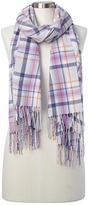 Gap Cozy modal plaid scarf