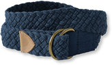 L.L. Bean Rope D-Ring Belt