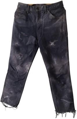 Levi's Vintage Clothing Purple Denim - Jeans Trousers