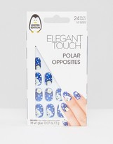 Elegant Touch Polar Opposites False Nails