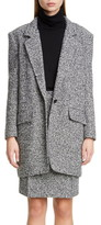 Max Mara Matassa Wool Blend Tweed Coat