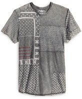 American Rag Men's Patchwork Paisley-Print T-Shirt, Created for Macy's