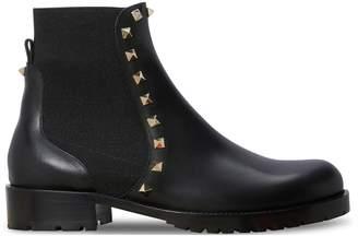 Valentino Gavarani studded Flat Ankle Boots