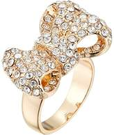 GUESS Pave Bow Ring Ring