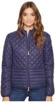 Save the Duck Non Hooded Chanel Panel/Diamond Quilting with Two Front Pockets Jacket