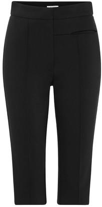 Esse Studios High-Waisted Bermuda Stretch Shorts