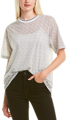 Burberry Monogram Devore Oversized T-Shirt