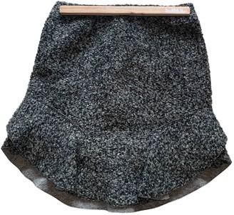 Isabel Marant Anthracite Cotton - elasthane Skirt for Women