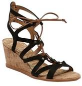 Dolce Vita Women's Lynnie Ghillie Lace Wedge Sandal.