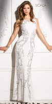 Scala Sequin Encrusted Sheath Dress
