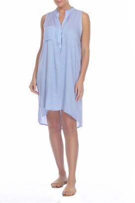 BOHO ME Sleeveless Cover-Up Tunic Dress