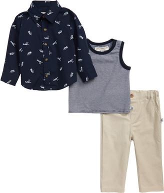 Fossil Shirt, Tank & Pants Set