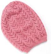 David & Young chevron knit beanie