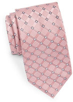 MICHAEL Michael Kors Diamond-Pattern Silk Tie
