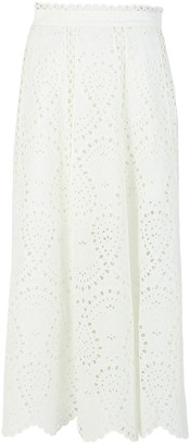 Zimmermann White Cotton Skirts