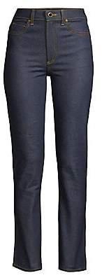 KHAITE Women's Victoria Straight-Leg Jeans