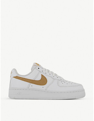 Nike Air Force 1 LV8 leather trainers