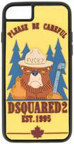 Dsquared2 Bear print iPhone 6/6S/7 case