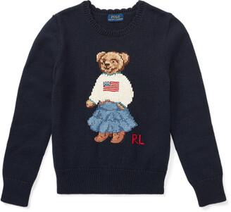 Ralph Lauren Polo Bear Cotton Jumper