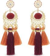 Rebecca Minkoff Ladies Tassel Luxurious Chandelier Earrings