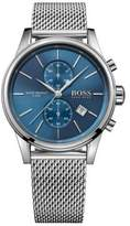 HUGO BOSS Chronograph Jet Stainless Steel Mesh Bracelet Watch