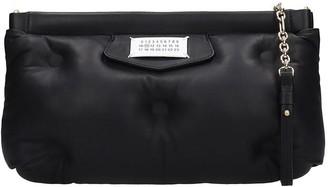 Maison Margiela Glam Slam Shoulder Bag In Black Leather