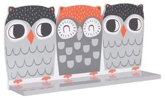 Trend Lab Wall Shelf - Olive Owl