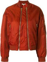 Kenzo two zip bomber jacket