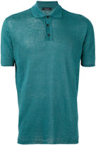 Roberto Collina classic polo shirt - men - Linen/Flax - 50