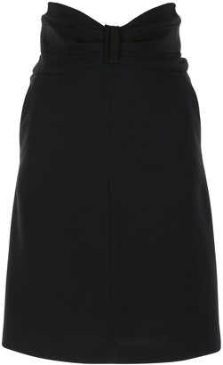 RED Valentino Bow High-Waisted Skirt