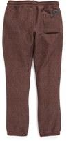 Volcom Boy's 'Static' Fleece Jogger Pants