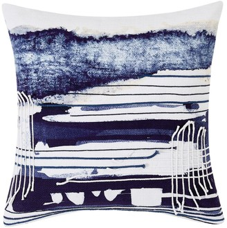 Sean John Dori Blue Square Throw Pillow