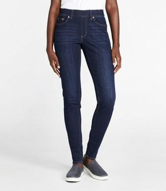 L.L. Bean Women's BeanFlex Jeans, Favorite Fit Pull-On