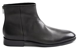 John Varvatos Men's Nyc Leather Ankle Boots
