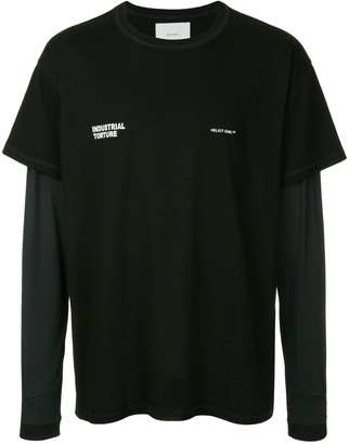 Heliot Emil industrial two layered T-shirt