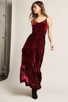 Forever 21 Free Generation Velvet Dress