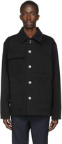 Acne Studios Black Twill Four-Pocket Chore Jacket