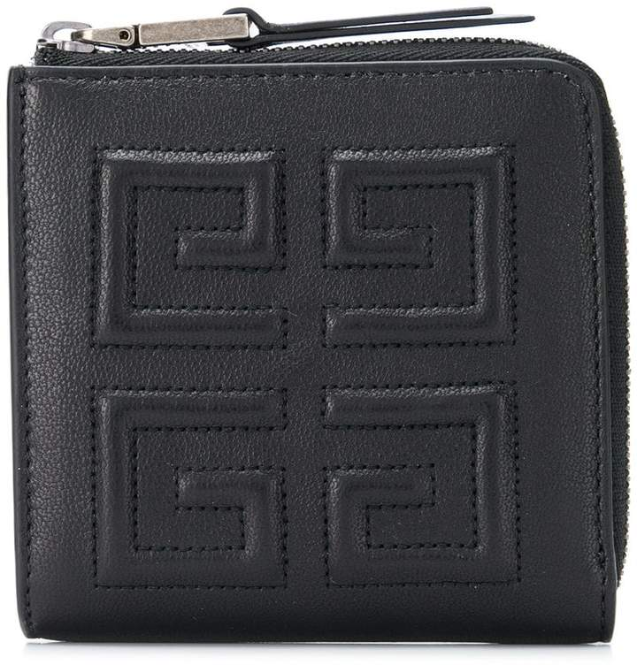Givenchy brand embossed wallet