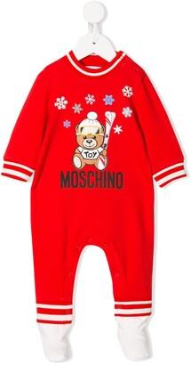 Moschino Kids snow teddy bear pajama
