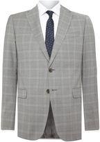 Armani Collezioni Grey Check Suit
