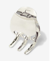 Express Kitsch Silver Large Claw Clip