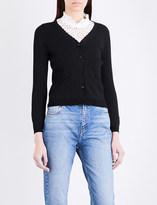 Claudie Pierlot Mondaine stretch-knit cardigan