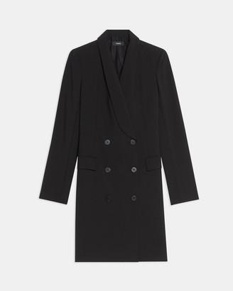 Theory Shawl Blazer Dress in Good Wool